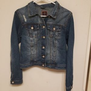 Womens blue denim jacket